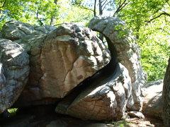 Rock Climbing Photo: back side of Merlin's Hat