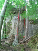 Rock Climbing Photo: 1) Conti d'Arco (7-), 2) Trentino (7-), Rock Cafe ...