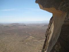 Rock Climbing Photo: View halfway up Frogland