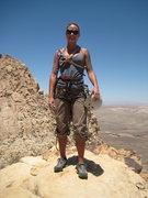 Rock Climbing Photo: Top of Frogland!