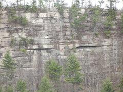 Rock Climbing Photo: Baldy on Winter Classic
