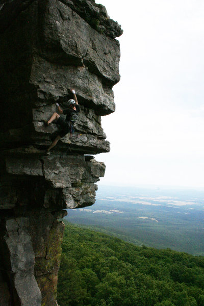 Rock Climbing Photo: route photo