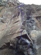 Rock Climbing Photo: Burnt Offerings