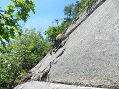 Rock Climbing Photo: Loran Smith on Islands