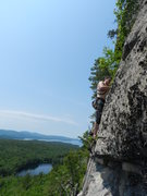 Rock Climbing Photo: Jay Denver climbing on the central wall