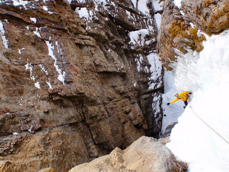 Rock Climbing Photo: Sunshine topout.