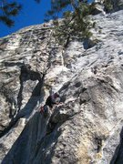 Rock Climbing Photo: Me on 1st Pitch