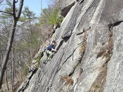 Rock Climbing Photo: JimBo On the rail