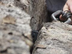 Rock Climbing Photo: Textbook nuts
