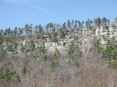 Rock Climbing Photo: The Left End