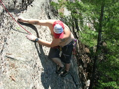 Rock Climbing Photo: Hat says it all Photo by Loran Smith