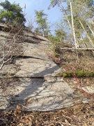 Rock Climbing Photo: First pitch after