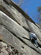 Rock Climbing Photo: Jon on Gentle Violence.
