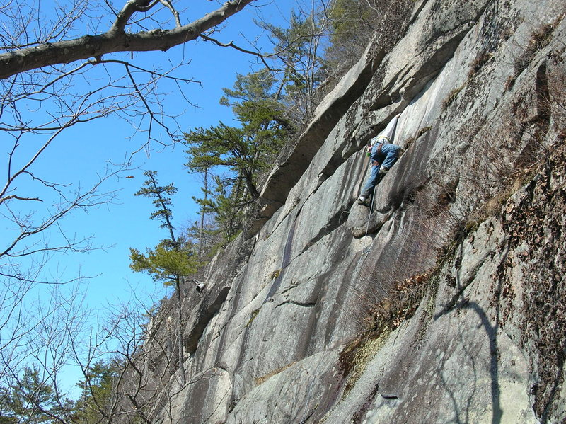 Rock Climbing Photo: Jon on Winter Classic.