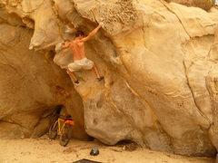Rock Climbing Photo: Richard Robinson doing the reverse of this climb, ...