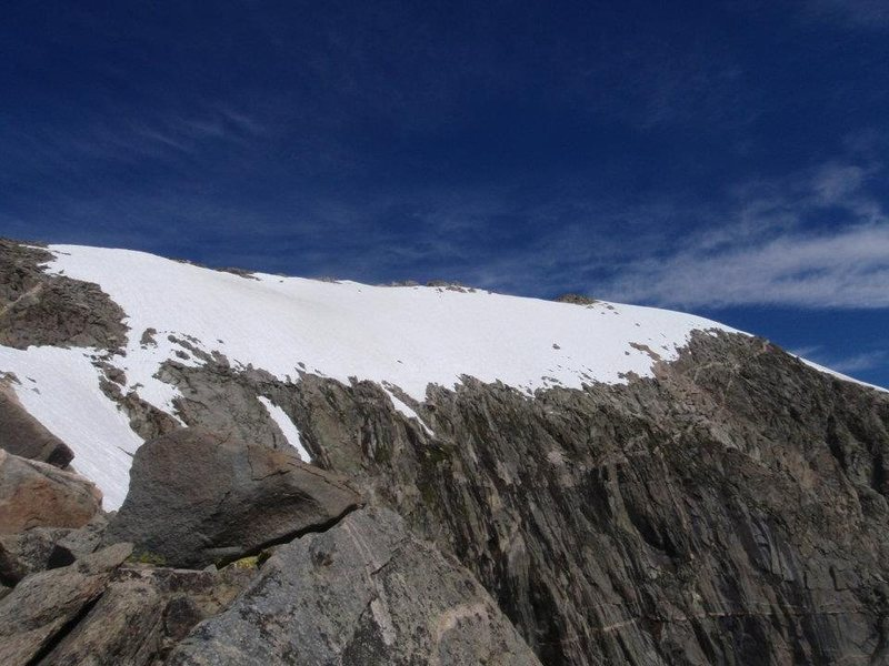 The final traverse from a distance