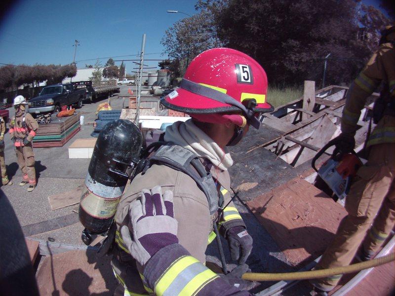 Rock Climbing Photo: roof ventilation operations training