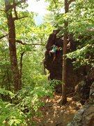 Rock Climbing Photo: Ryan on the Unnamed BP.