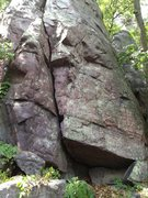 Rock Climbing Photo: Beta Photo. This is the buttress which is below we...