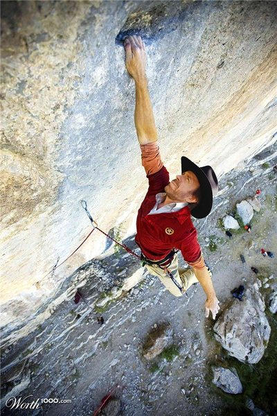 Rock Climbing Photo: Me, of course