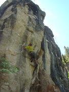 Rock Climbing Photo: Blind Faith, 5.12c