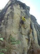 Rock Climbing Photo: Blind Faith.
