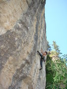 Rock Climbing Photo: Orphans of War, 5.12a.