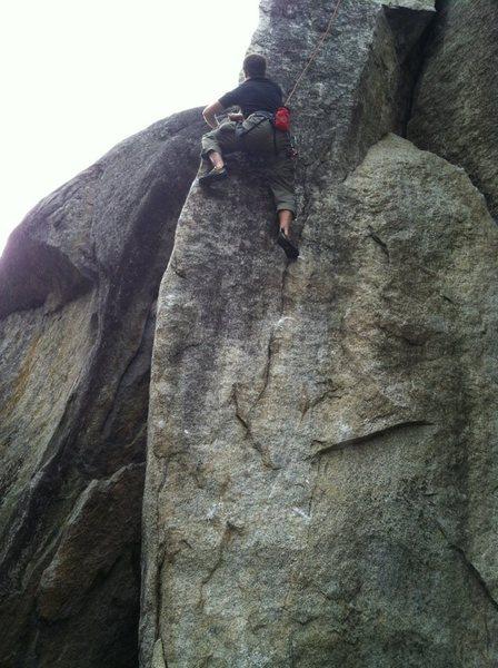 Rock Climbing Photo: Sweet Arete Climbing!