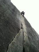 Rock Climbing Photo: Great 9 finger crack