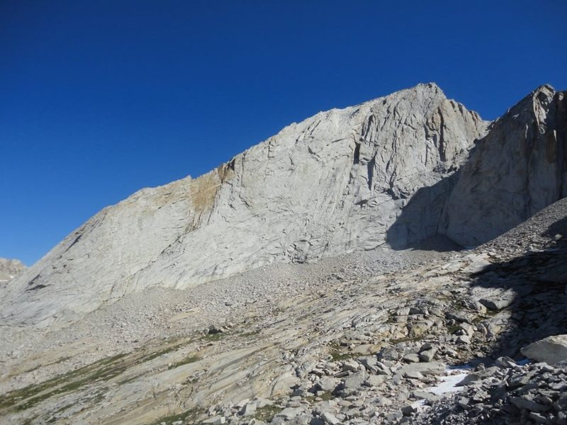 Rock Climbing Photo: west ridge, conness