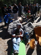 Rock Climbing Photo: Oh! the Camp 4 line.