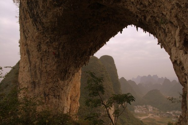 Moon Hill Arch Yangshuo China