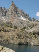 Rock Climbing Photo: South East Face of Clyde Minaret in the Sierras