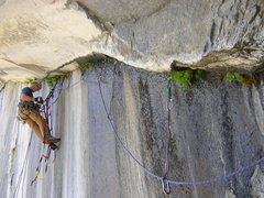 Rock Climbing Photo: funnest pitch to clean ever