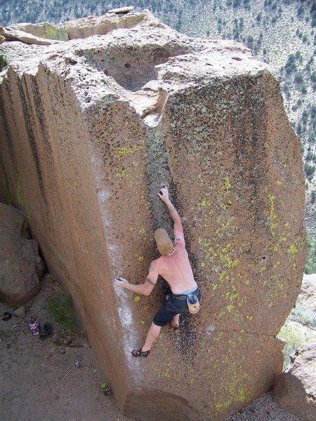 Rock Climbing Photo: ....