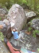 Rock Climbing Photo: Lohre campusing