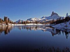 Rock Climbing Photo: Lake of Federa - Dolomites of Italy