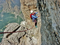 Rock Climbing Photo: Liz