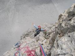 Rock Climbing Photo: On the edge
