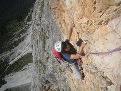 """Rock Climbing Photo: Climbing the """"Pilastro"""""""