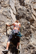 Rock Climbing Photo: Leading Fun in the Sun