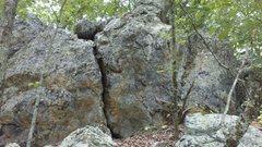 Rock Climbing Photo: Scadams boulder