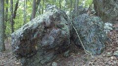 Rock Climbing Photo: ramdom boulder next to scadams boulder