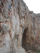 Rock Climbing Photo: Rachel on Nini.