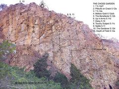 Rock Climbing Photo: Topo June 2012