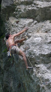 "Rock Climbing Photo: ""John"" 5.13a, Mingshuiquan routes, Xian ..."