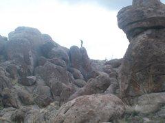 Rock Climbing Photo: nephi boulders so much rock!!