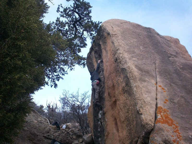 Rock Climbing Photo: big one by new joes