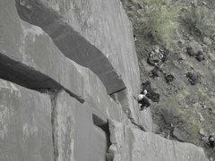 Rock Climbing Photo: summer on it