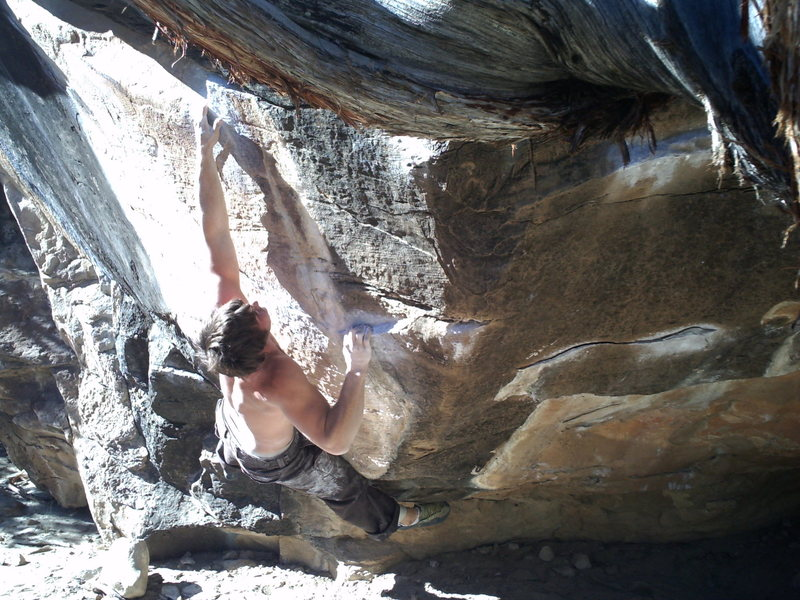 Rock Climbing Photo: man size v8